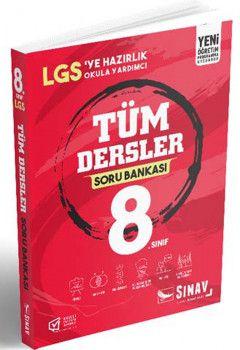 Sınav Yayınları 8. Sınıf LGS Tüm Dersler Soru Bankası