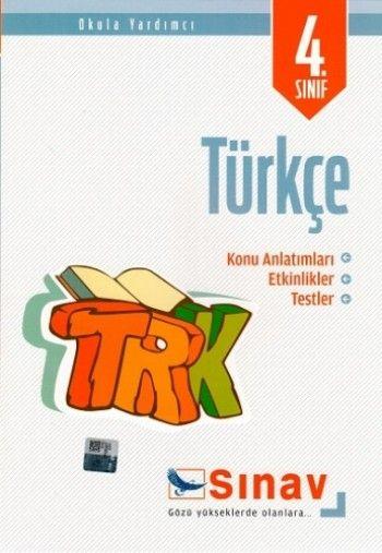 Sınav Yayınları 4. Sınıf Türkçe Konu Anlatımlı