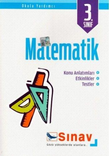 Sınav Yayınları 3. Sınıf Matematik Konu Anlatımlı Etkinlikler Testler