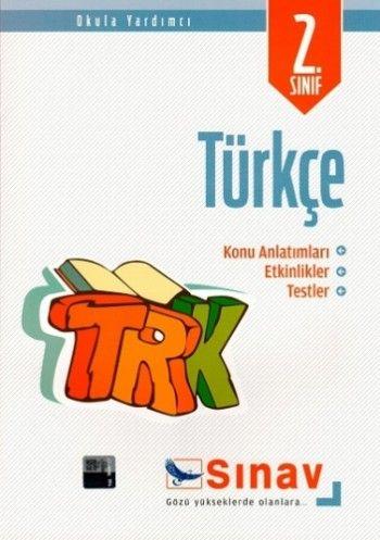 Sınav Yayınları 2. Sınıf Türkçe Konu Anlatımlı Etkinlikler Testler