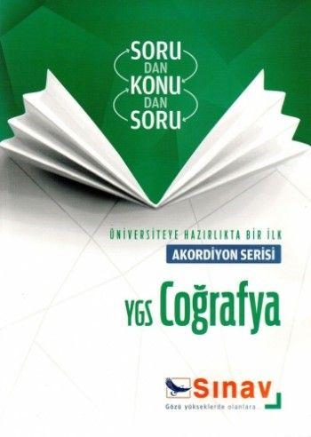 Sınav Yayınları YGS Coğrafya Akordiyon Serisi