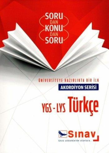 Sınav Yayınları YGS LYS Türkçe Akordiyon Serisi