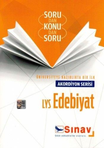 Sınav Yayınları LYS Edebiyat Akordiyon Serisi