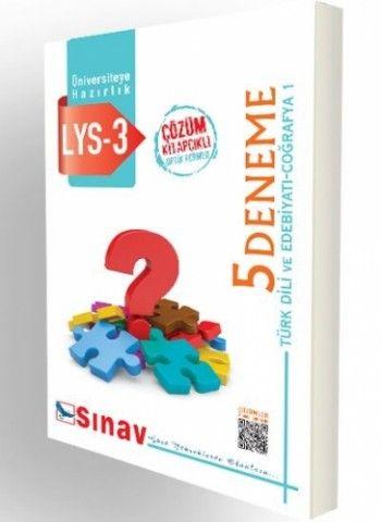 Sınav Yayınları LYS 3 Çözümlü 5 Deneme