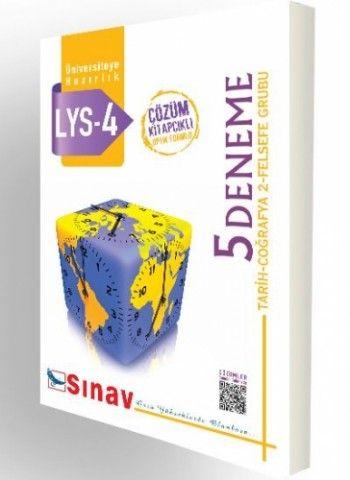 Sınav Yayınları LYS 4 Tarih Coğrafya 2 Felsefe Grubu Çözümlü 5 Deneme