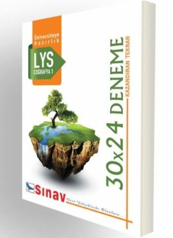 Sınav Yayınları LYS Coğrafya 1 30X24 Deneme