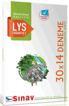 Sınav Yayınları LYS Coğrafya 2 30X14 Deneme