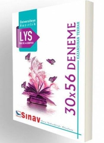 Sınav Yayınları LYS Türk Dili ve Edebiyatı  30X56 Deneme