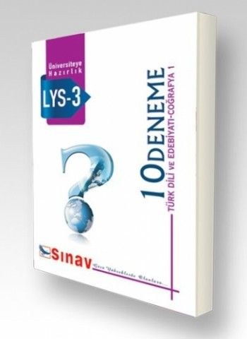 Sınav Yayınları LYS 3 10 Deneme