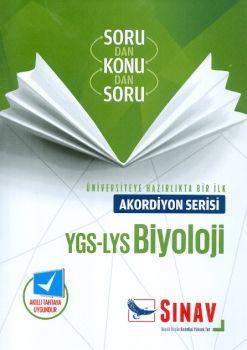 Sınav YGS LYS Biyoloji Akordiyon Sorudan Konudan Soru