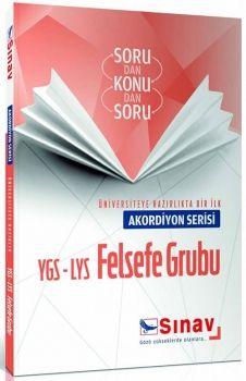 Sınav YGS LYS Felsefe Grubu Akordiyon Serisi Sorudan Konudan Soru