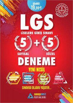 Sıradışıanaliz Yayınları LGS 5+5 Deneme