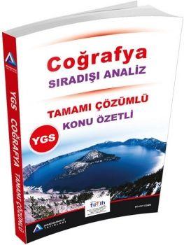 Sıradışıanaliz Yayınları YGS Coğrafya Tamamı Çözümlü Konu Özetli