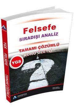 Sıradışıanaliz YGS Felsefe Konu Özetli Tamamı Çözümlü Soru Bankası