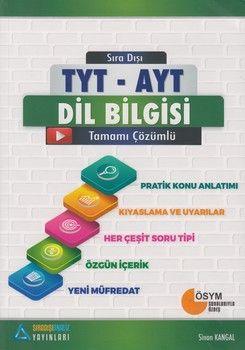 Sıradışıanaliz Yayınları TYT AYT Dil Bilgisi Konu Anlatımlı Soru Bankası