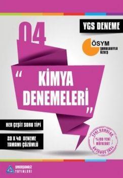 Sıradışıanaliz Yayınları YGS Kimya Tamamı Çözümlü 40X13 Denemeleri