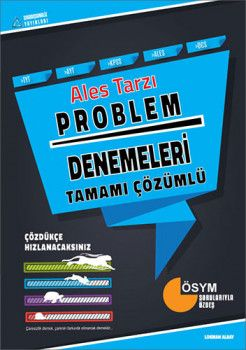 Sıradışıanaliz Yayınları TYT AYT KPSS ALES DGS Tarzı Problem Tamamı Çözümlü Deneme