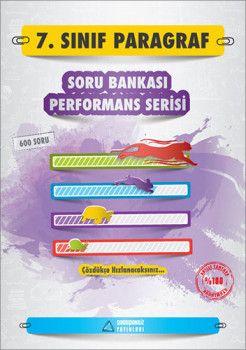 Sıradışıanaliz Yayınları 7. Sınıf Paragraf Soru Bankası Performans Serisi