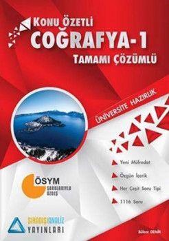 Sıradışıanaliz Yayınları TYT Coğrafya 1 Konu Özetli Tamamı Çözümlü Soru Bankası