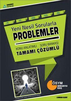 Sıradışıanaliz Yayınları Yeni Nesil Sorularla Problemler Tamamı Çözümlü Konu Anlatımlı Soru Bankası