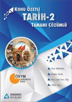 Sıradışıanaliz Yayınları AYT Tarih 2 Tamamı Çözümlü Konu Özetli
