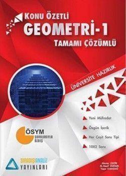 Sıradışıanaliz Yayınları TYT Geometri 1 Konu Özetli Tamamı Çözümlü Soru Bankası