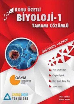 Sıradışıanaliz Yayınları TYT Biyoloji 1 Konu Özetli Tamamı Çözümlü Soru Bankası