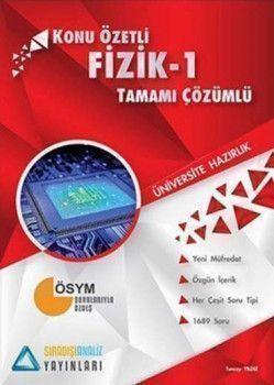 Sıradışıanaliz Yayınları TYT Fizik 1 Konu Özetli Tamamı Çözümlü Soru Bankası