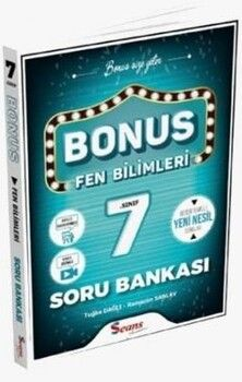 Seans Yayınları 7. Sınıf Bonus Fen Bilimleri Soru Bankası