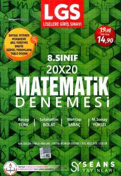 Seans Yayınları 8. Sınıf LGS Matematik 20x20 Deneme
