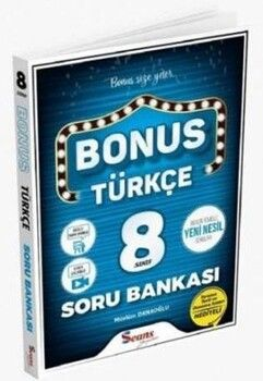Seans Yayınları 8. Sınıf Bonus Türkçe Soru Bankası