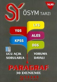 Seans Yayınları ÖSYM Tarzı Paragraf 30 Deneme
