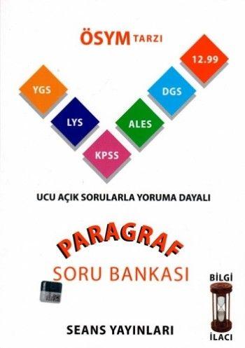 Seans Yayınları ÖSYM Tarzı Paragraf Soru Bankası
