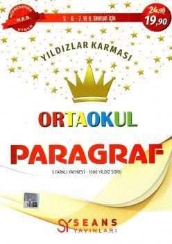 Seans Yayınları Yıldızlar KarmasıOrtaokul Paragraf Soru Bankası
