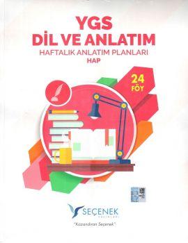 Seçenek Yayınları YGS Dil ve Anlatım Haftalık Anlatım Planları 24 Föy