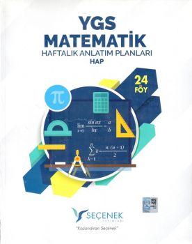 Seçenek Yayınları YGS Matematik Haftalık Anlatım Planları 24 Föy