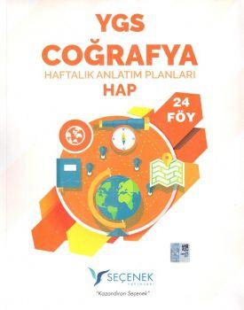 Seçenek Yayınları YGS Coğrafya Haftalık Anlatım Planları 24 Föy