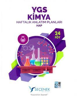 Seçenek Yayınları YGS Kimya Haftalık Anlatım Planları 24 Föy