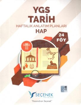 Seçenek Yayınları YGS Tarih Haftalık Anlatım Planları 24 Föy