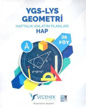 Seçenek Yayınları YGS LYS Geometri Haftalık Anlatım Planları 24 Föy