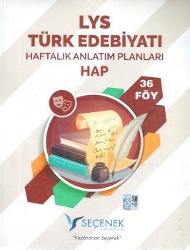 Seçenek Yayınları LYS Türk Edebiyatı Haftalık Anlatım Planları 36 Föy