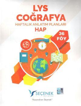 Seçenek Yayınları LYS Coğrafya Haftalık Anlatım Planları 36 Föy