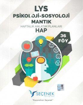 Seçenek Yayınları LYS Psikoloji Sosyoloji Mantık Haftalık Anlatım Planları 36 Föy