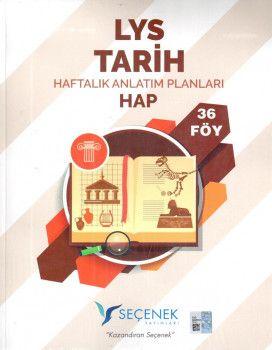Seçenek Yayınları LYS Tarih Haftalık Anlatım Planları 36 Föy
