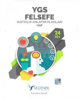 Seçenek Yayınları YGS Felsefe Haftalık Anlatım Planları 24 Föy