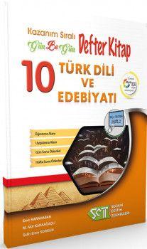 Seçkin Eğitim Teknikleri 10. Sınıf Türk Dili ve Edebiyatı Defter Kitap  Kazanım Sıralı Gün Be Gün