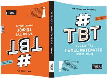Seri Yayınları YKS 1. Oturum TYT Hem Türkçe Hem Matematik 12x40 Deneme Sınavı