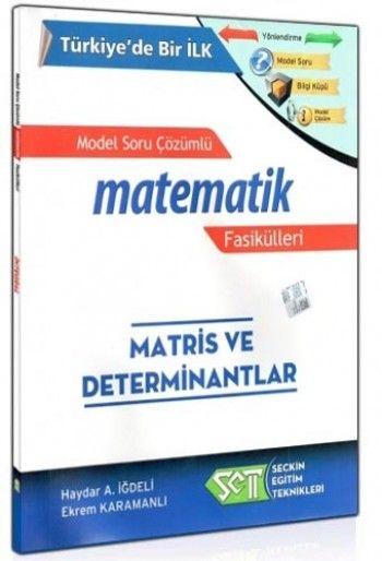 SET Matematik Fasikülleri Matris ve Determinatlar