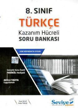 Seviye Yayınlar 8. Sınıf Türkçe Kazanım Hücreli Soru Bankası
