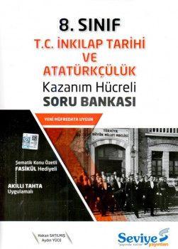 Seviye Yayınlar 8. Sınıf T.C. İnkilap Tarihi ve Atatürkçülük Kazanım Hücreli Soru Bankası